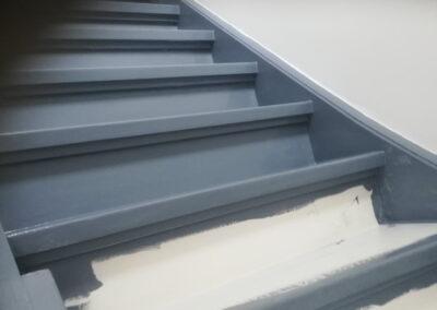 opnieuw schilderen van traptredes |parkstadklussen.nl
